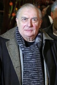 Claude Chabrol at the 56th Berlinale Film Festival for the screening of