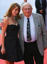 Claude Chabrol and Ludivine Sagnier at the 64th Annual Venice Film Festival for the premiere of