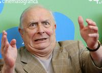 Claude Chabrol at the 64th Annual Venice Film Festival for the photocall of