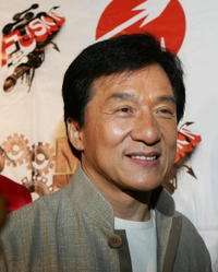 Jackie Chan promotes his concert performance at FU-SION 2007 in L.A.