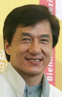 Jackie Chan at a photocall of