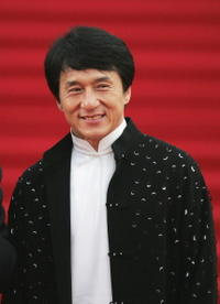 Jackie Chan at the 8th Shanghai International Film Festival.