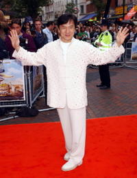 Jackie Chan at the London premiere of