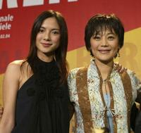 Rene Liu and Sylvia Chang at the news conference of