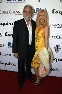 Tommy Chong and Shelby Chong at the Abbey/Esquire Magazine