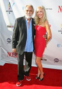 Tommy Chong and Shelby Chong at the 2008 ALMA Awards.