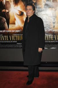 Christian Clavier at the Paris premiere of