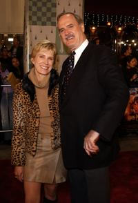 John Cleese and Alice at the Los Angeles premiere of