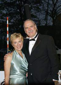 John Cleese and Alyce Faye at the Burlington Hotel for the The Irish Film and Televison Awards.