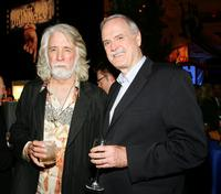 John Cleese and John McKuen at the Wynn Las Vegas for the after party at the premiere of