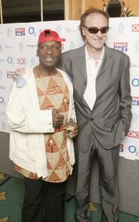 Jimmy Cliff and Ray Davies at the Nordoff Robbins Silver clef Awards.