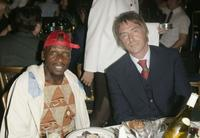 Jimmy Cliff and Paul Weller at the Nordoff Robbins Silver clef Awards.