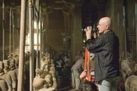 Director Rob Cohen on the set of