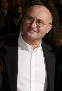 Phil Collins at the premiere of