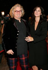 Billy Connolly and Carrie-Anne Moss at the Toronto International Film Festival premiere screening of