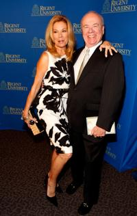 Kathie Lee Gifford and Tim Conway at the Regent University's School of Communication and the Arts 2nd Annual Candlelight Forum.