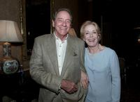 Richard Crenna and Holland Taylor at the Televison Critics Association Summer Tour.