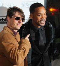 Tom Cruise and Will Smith at the New York premiere of
