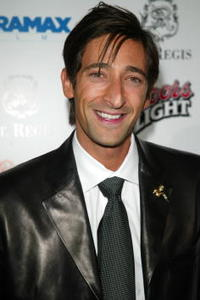Adrien Brody at the Miramax Pre-Oscar 'Max Awards' party in Los Angeles.