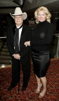 Tony Curtis and his wife Jill at the Sony Ericsson Empire Film Awards.