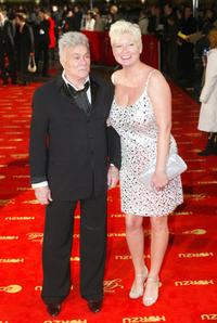 Tony Curtis and his wife Jill at the Goldene Kamera Film Awards.