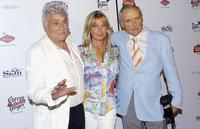 Tony Curtis, Dennis Hopper and Bo Derrick at the Viva Las Vegas Party during Cinevegas 2005.