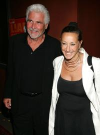 James Brolin and Donna Karan at the premiere of