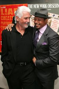 James Brolin and Terrence Howard at the premiere of