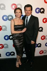 Josh Brolin and Diane Lane at the GQ 2007