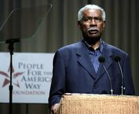 Ossie Davis at a reading of the U.S. Constitution.