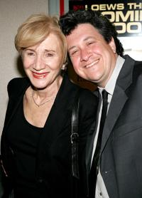 Olympia Dukakis and Raymond de Felitta at the premiere of