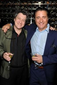 Raymond de Felitta and Andy Garcia at the after party of the premiere of