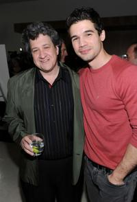 Raymond de Felitta and Steven Strait at the of premiere of