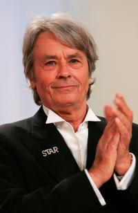 Alain Delon at the 60th International Cannes Film Festival Palme d'Or Award Ceremony.