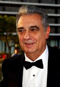 Placido Domingo at the Los Angeles Opera's opening of