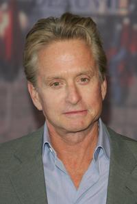 Michael Douglas at the 33rd Deauville Film Festival photocall for