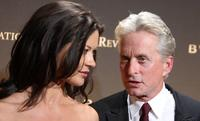 Michael Douglas and wife Catherine Zeta Jones at The 2007 National Board of Review Awards Gala.