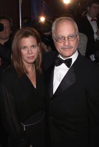 Richard Dreyfuss and his wife Janelle at the New York Friar's Club Roast of Rob Reiner.