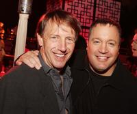 Dennis Dugan and Kevin James at the after party of the premiere of