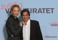 Uma Thurman and Griffin Dunne at the photocall of