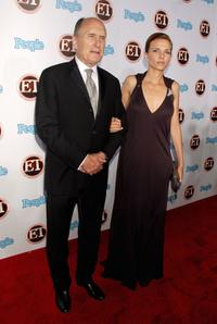 Robert Duvall and wife Luciana Pedraza at 11th Annual Entertainment Tonight Party.