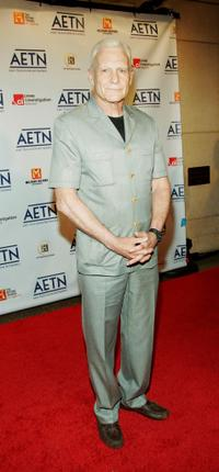 Dale Dye at the A&E Television Networks Upfront celebration.