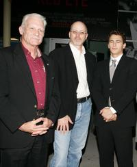Dale Dye, director John Dahl and James Franco at the premiere of