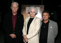 Dale Dye, Jean Picker Firstenberg and Martin Katz at the premiere of
