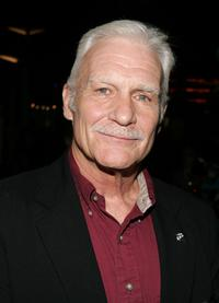 Dale Dye at the premiere of