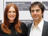 Julianne Moore and Atom Egoyan at the photocall of