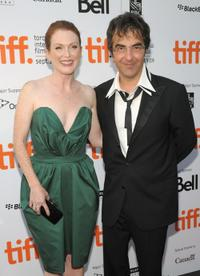 Julianne Moore and Atom Egoyan at the screening of