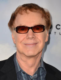 Composer Danny Elfman at the California premiere of