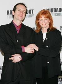 Blair Brown and Denis O'Hare at the Roundabout Theatre Company's Spring Gala.