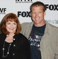 Blair Brown and Mark Valley at the premiere of